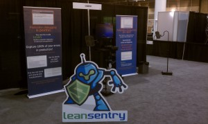 LeanSentry's booth at TechEd 2013